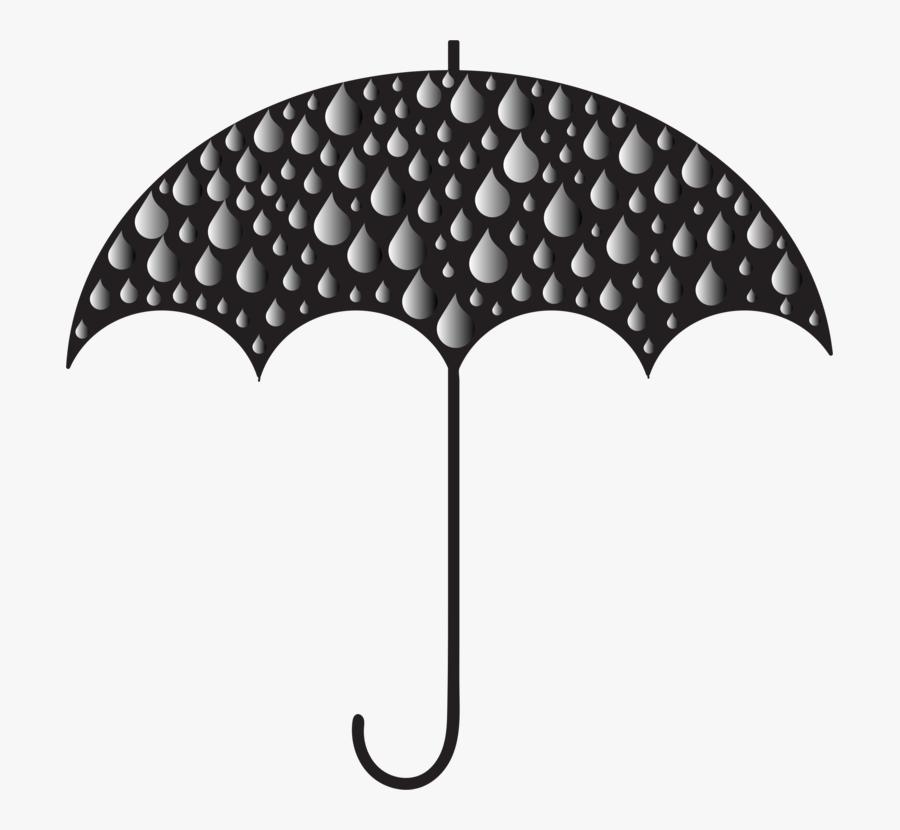 Transparent Rain Clipart Png - Umbrella With Rain Clipart Png, Transparent Clipart