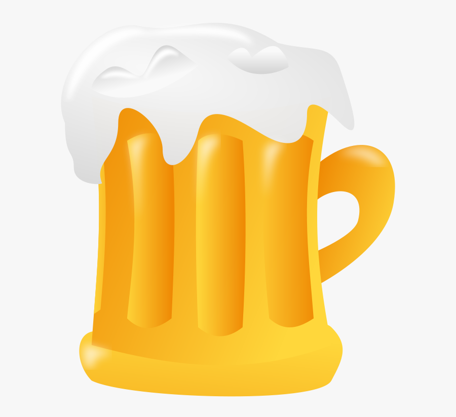 Beer - Clipart - Transparent Background Beer Mug Clipart, Transparent Clipart