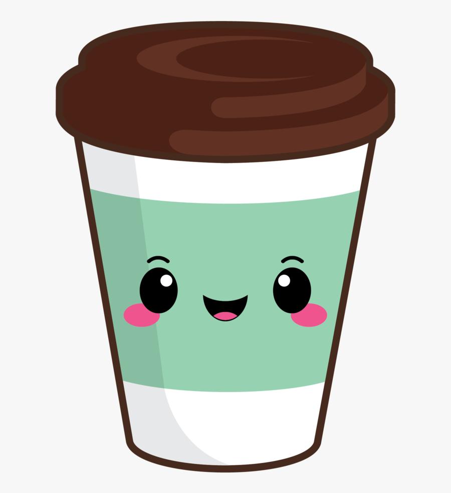 Cute Coffee Cup Clipart - Transparent Cute Coffee Cup Clipart, Transparent Clipart