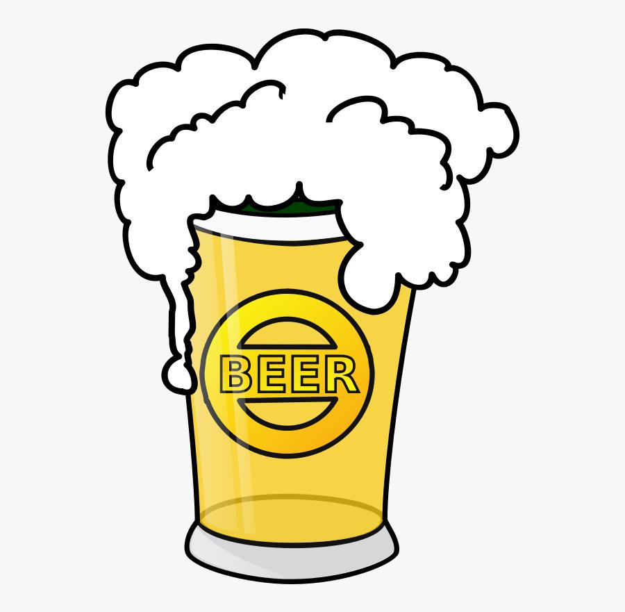 Microsoft Clipart Beer - Cartoon Beer Transparent Background, Transparent Clipart