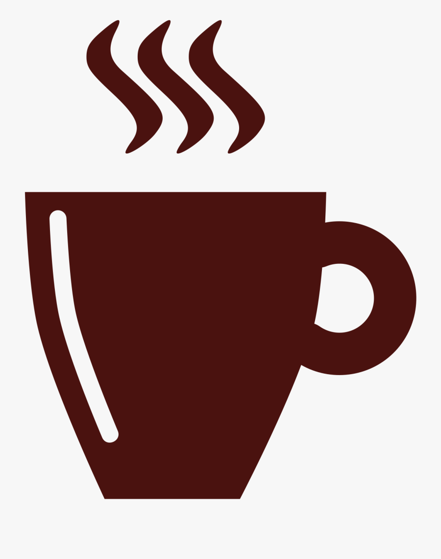 File Coffee Cup Flat - Cup Of Coffee Flat Png, Transparent Clipart