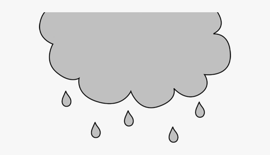 Rain Clouds Clipart - Gray Rain Cloud Clip Art, Transparent Clipart