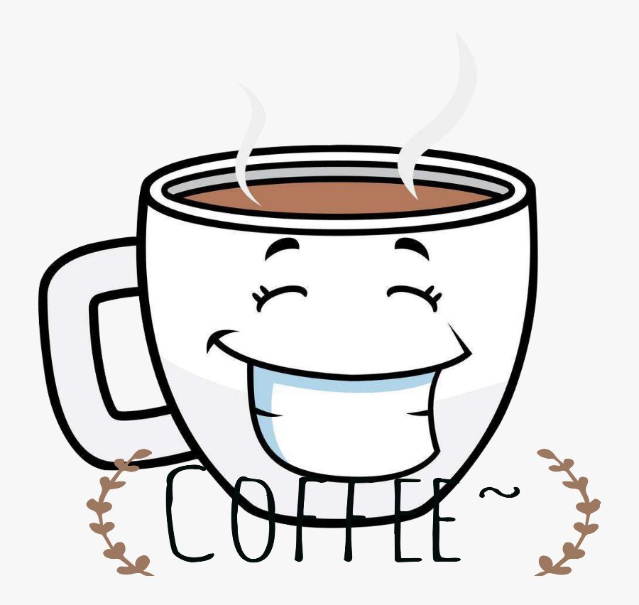 Mq Mug Mugs Coffee Drink Drinks Cartoon - Coffee Cup Cartoon, Transparent Clipart