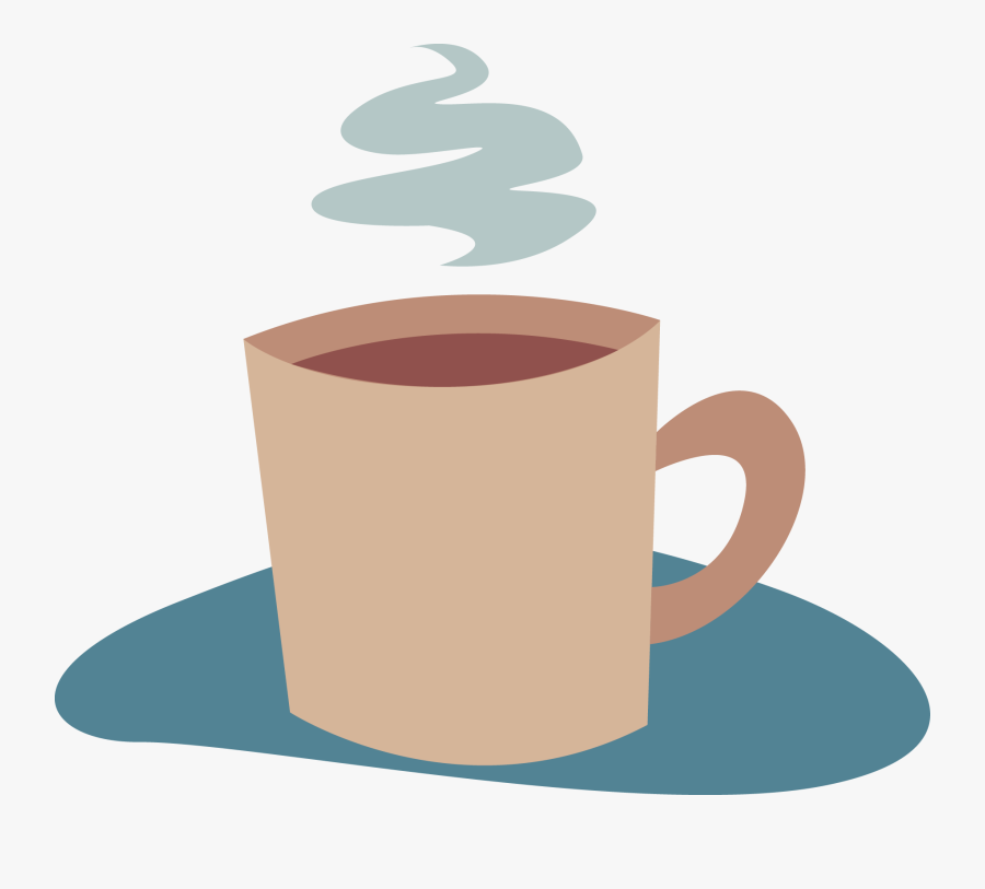 Coffee Paper Cafe Sticker Clip Art - Coffee Break Png, Transparent Clipart