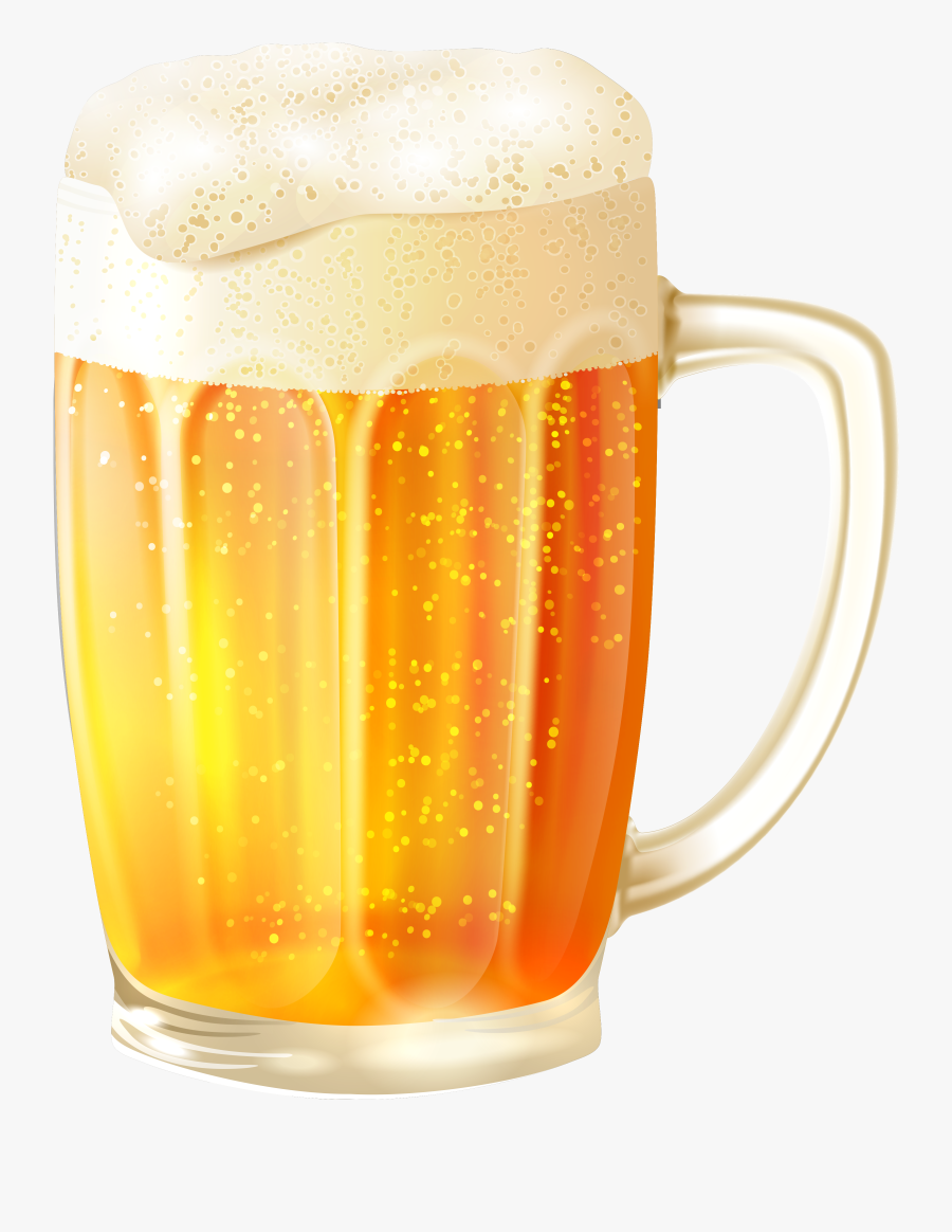 Transparent Beer Mug Clipart - Beer And Pretzel Png, Transparent Clipart