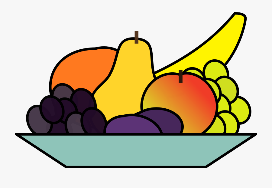 Free Fruit And Vegetables Clipart - Clipart Fruit Bowl, Transparent Clipart