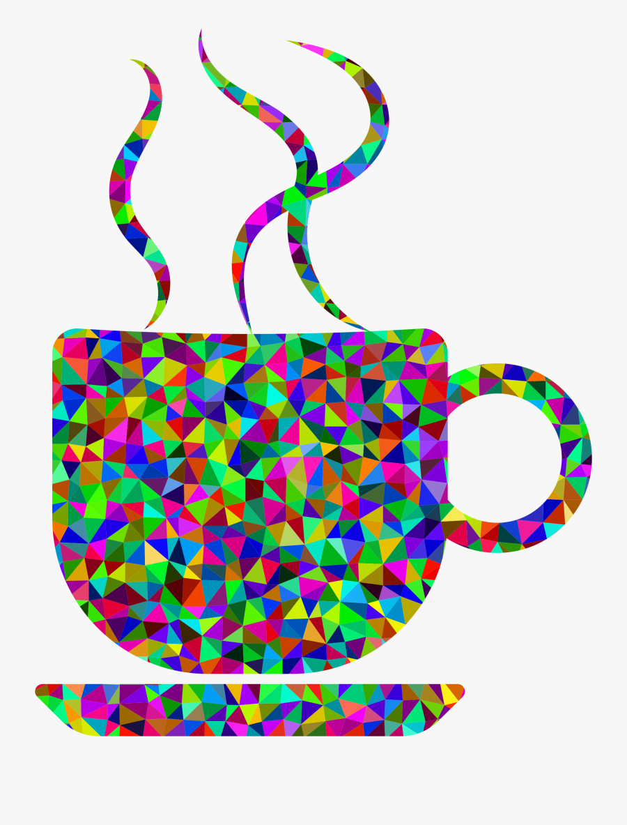 Line,coffee,coffee Cup - Clipart Coffee Cup Transparent, Transparent Clipart