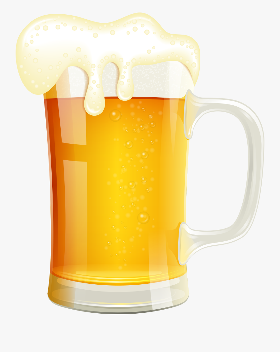Beer Clipart High Resolution - Beer Glass Vector Png, Transparent Clipart