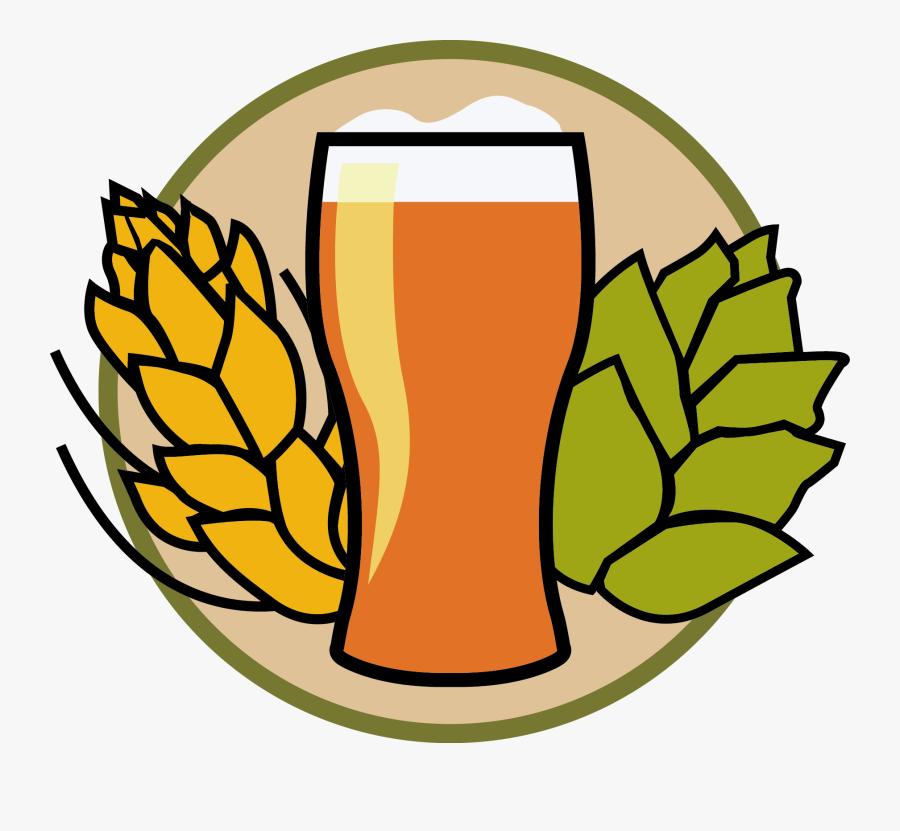 Beer Clipart Home Brew Transparent Clip Arts Images - Beer And Hops Clipart, Transparent Clipart