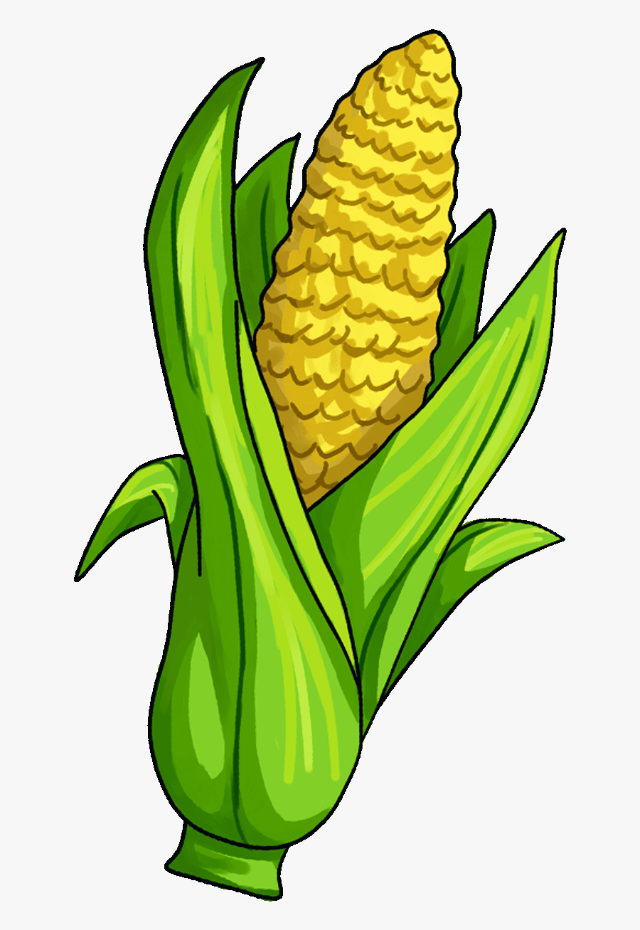 Surprising Corn Clipart For Free Fruit Names A With - Single Vegetables And Fruits Clipart, Transparent Clipart