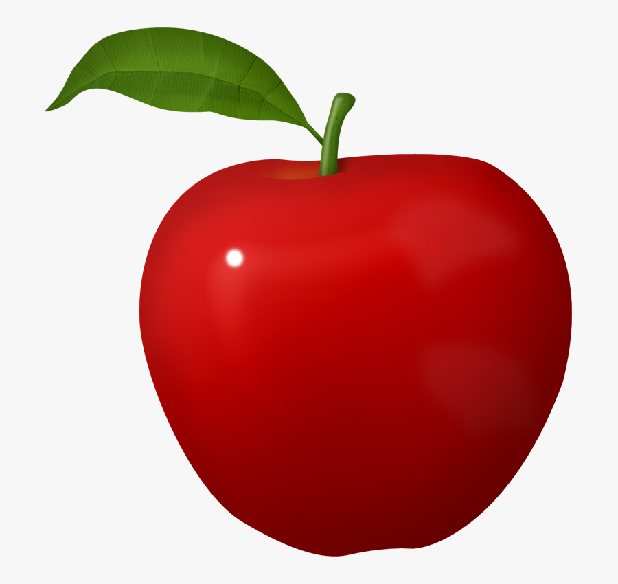 Apple Fruit Clip Art, Transparent Clipart