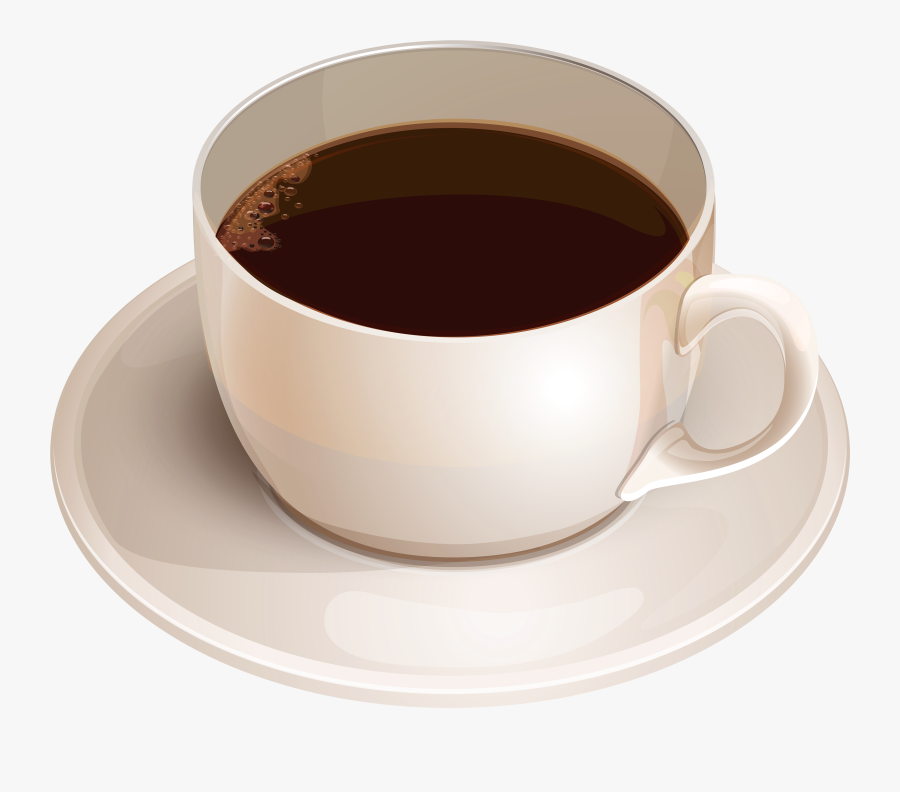 White With Png Best - Cup Of Coffee Png, Transparent Clipart
