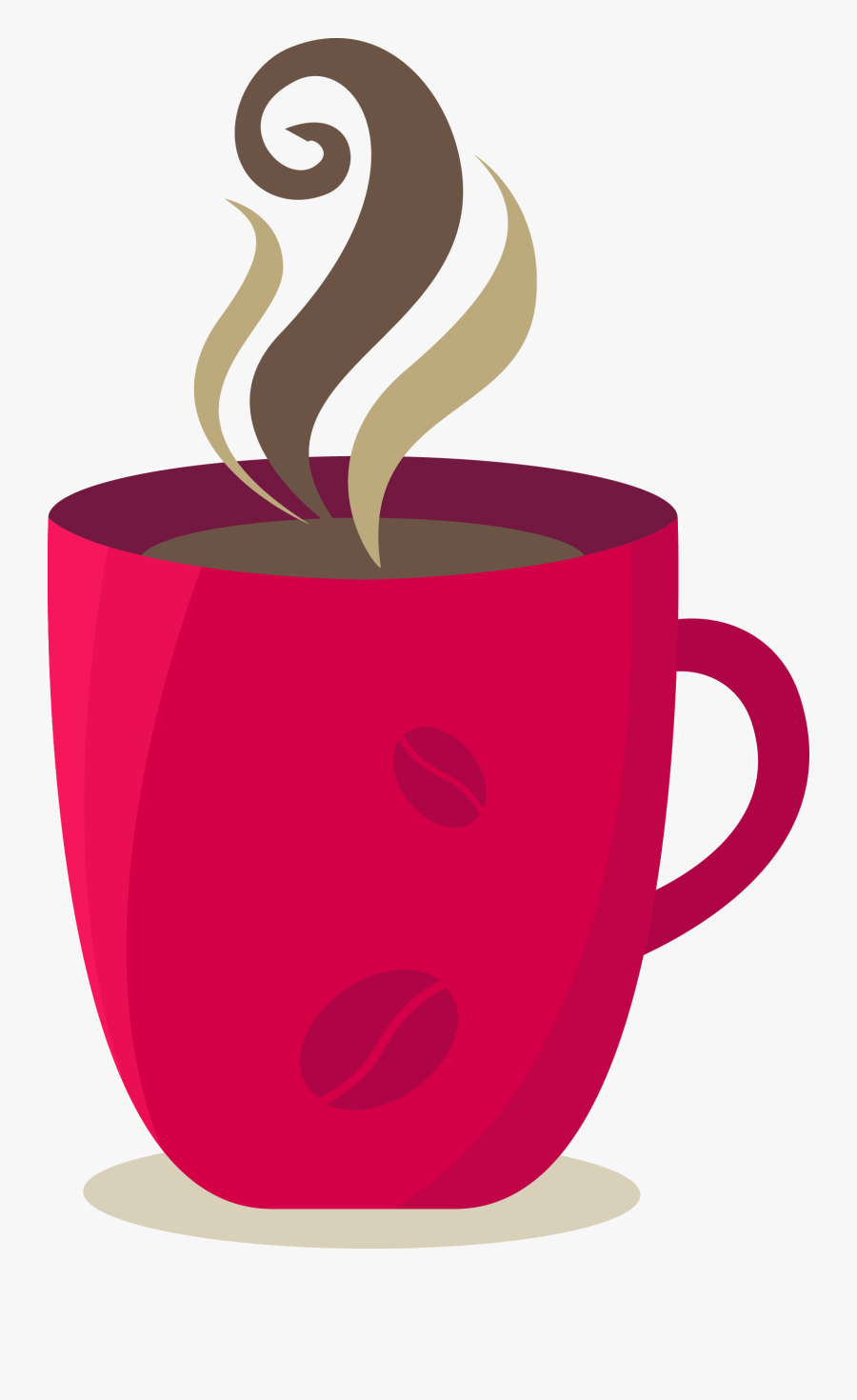 Clip Art Cartoon Coffee Mugs - Coffee Cup Images Cartoon, Transparent Clipart