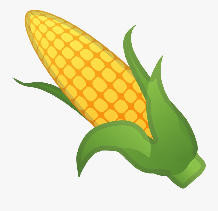 Ear Of Corn Icon - Ear Of Corn Cartoon, Transparent Clipart