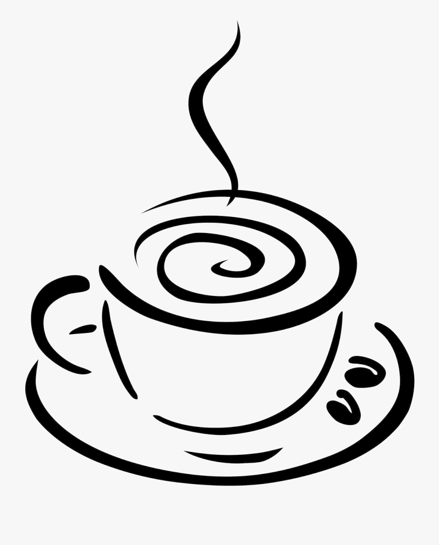 Coffee Cup Hd Clip Art Black Of Clipart Transparent - Coffee Clipart Transparent, Transparent Clipart