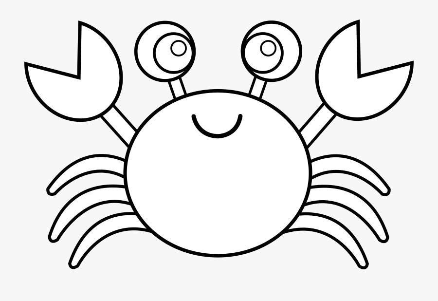 Crab Black And White Blue Crab Clipart Black And White - Crab Clipart Black And White, Transparent Clipart