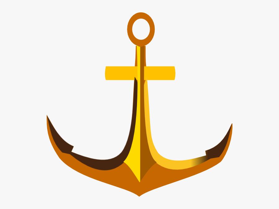 Anchor Clip Art At Clker Com Vector Clip Art Online - Cross, Transparent Clipart