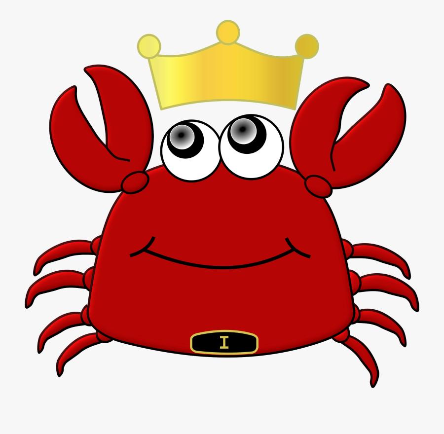 Free Of King Crab Cartoon Vector Files Clip Art - King Crab Clip Art, Transparent Clipart