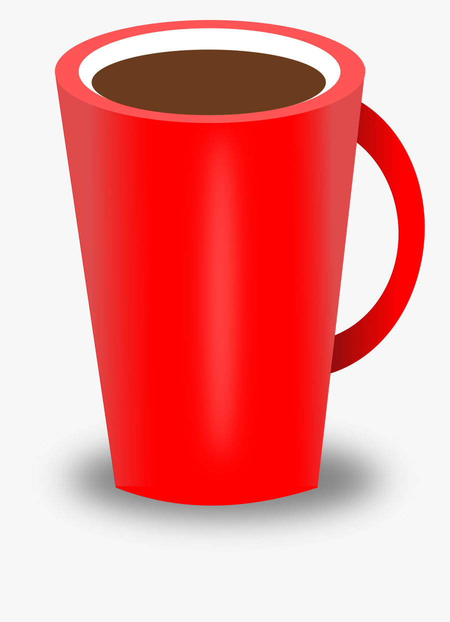 Brown Coffee Cup Clipart Cliparts And Others Art Inspiration - Red Coffee Cup Clipart, Transparent Clipart