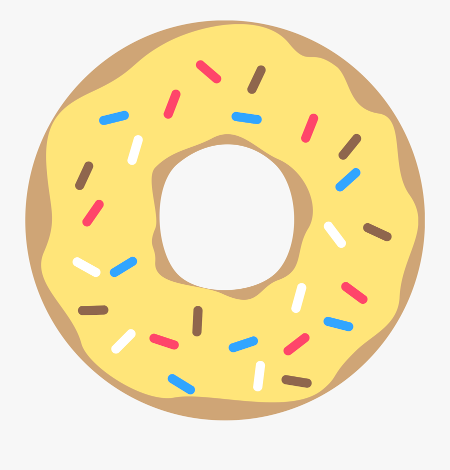 Free Printable Donut Banner Party Decor - Donut Printable, Transparent Clipart