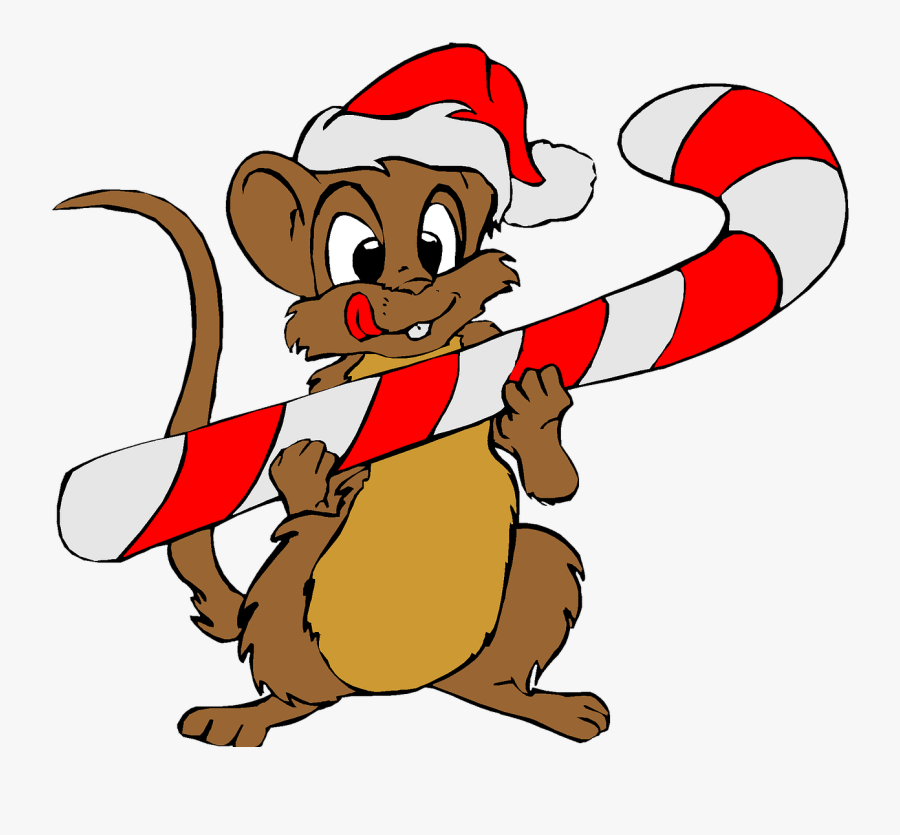 Christmas, Holiday, Clip Art, Mouse, Santa, Red, Hat - Christmas Holiday Images Clip Art, Transparent Clipart