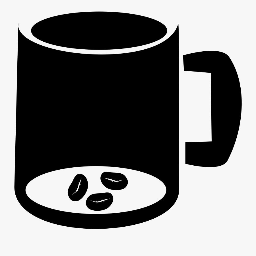 Coffee Clipart Coffee Mug - Coffee Bean Mug Clipart, Transparent Clipart