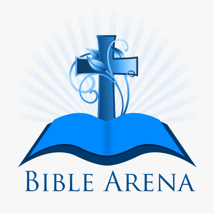 Bible Arena Logo Png - Clip Art Church Cross, Transparent Clipart