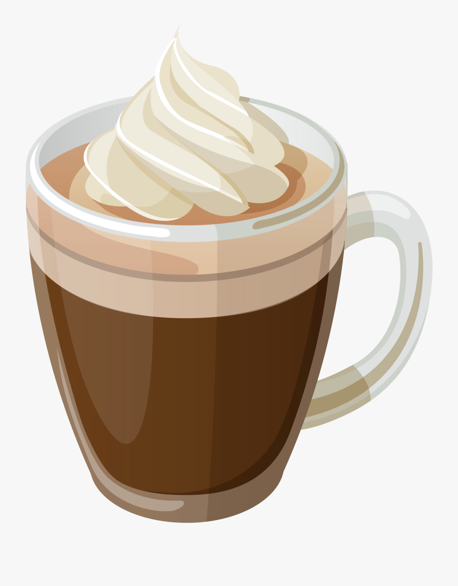 Coffee With Cream Png Clipart Picture - Transparent Background Hot Chocolate Png, Transparent Clipart