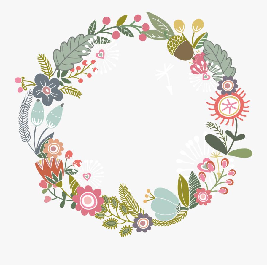 Transparent Floral Pattern Png - Flower Paper Borders Design, Transparent Clipart