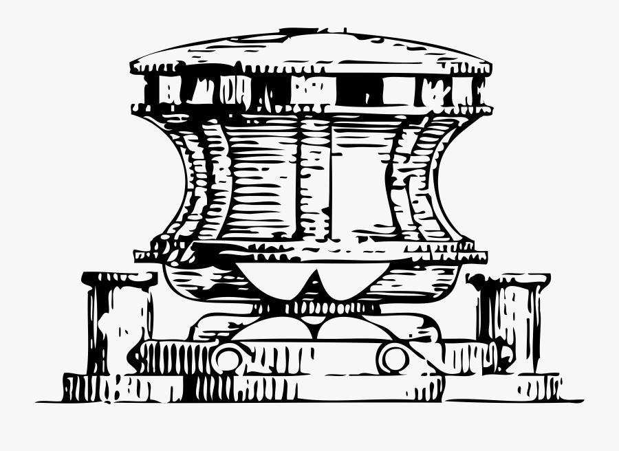 Capstan For An Anchor Svg Clip Arts - Clip Art, Transparent Clipart