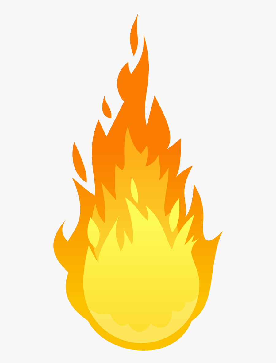 Torch Flame Png - Cartoon Transparent Fire Gif, Transparent Clipart