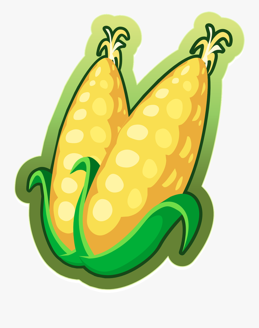 Corn Free To Use Clip Art Clipart - การ์ตูน Png น่า รัก ๆ, Transparent Clipart
