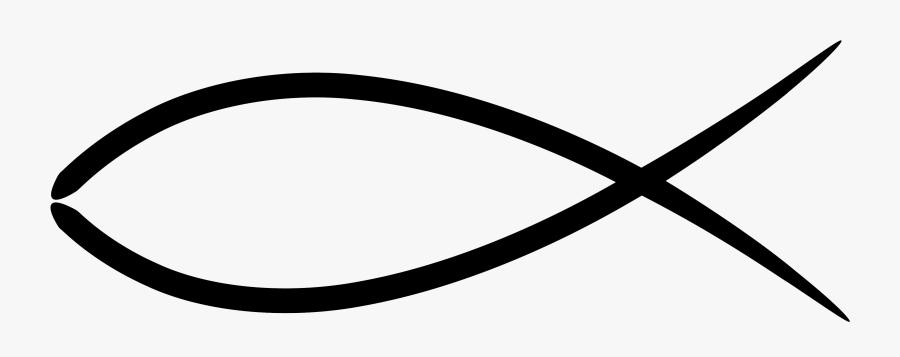Christian Fish Symbol - Transparent Christian Fish Symbol, Transparent Clipart