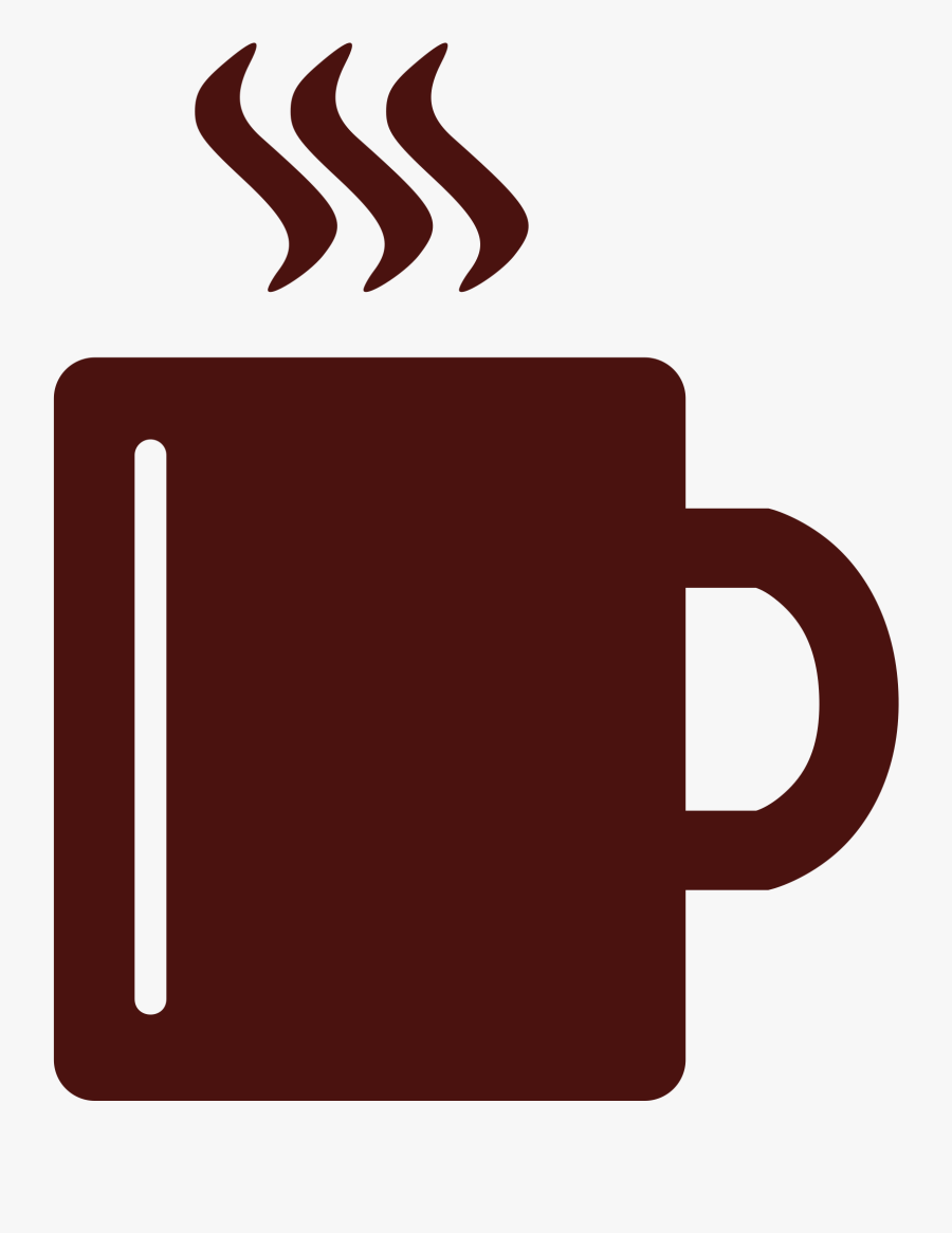 Coffee Mug Clipart At Getdrawings - Coffee Mug Icon Png, Transparent Clipart