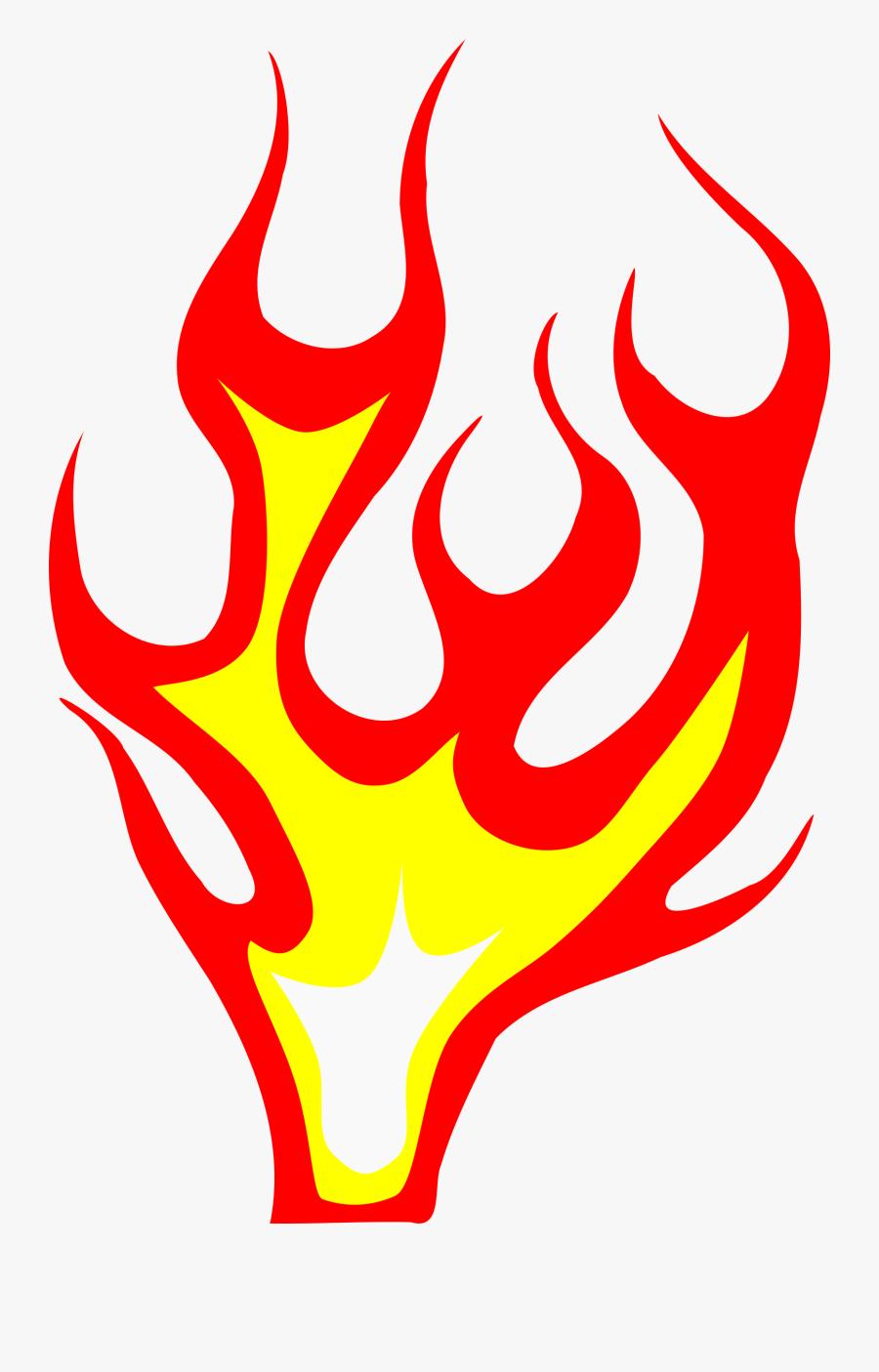 Flame Clipart, Transparent Clipart