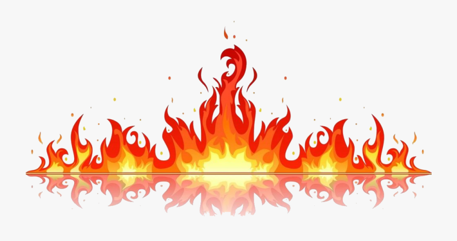 Fire Clipart Blaze Graphics Illustrations Free On Transparent - Fire Flame Vector Png, Transparent Clipart