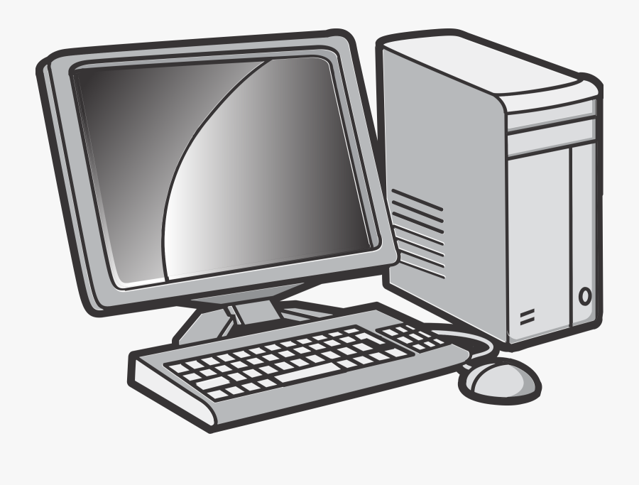 Computer Monitor,desktop Computer,computer - Desktop Computer Clipart, Transparent Clipart