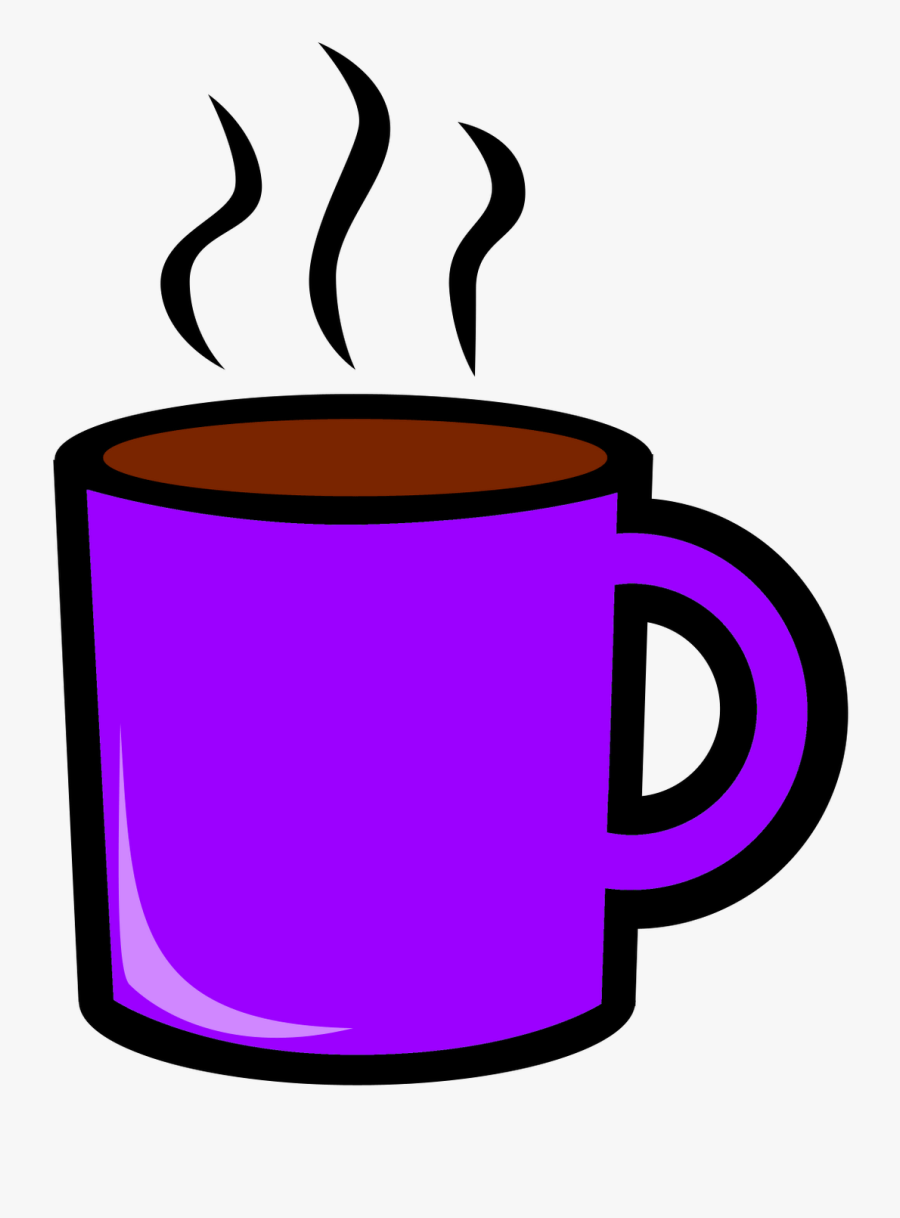 Steam Clipart Coffee Cup - Cup Of Hot Chocolate Clip Art, Transparent Clipart