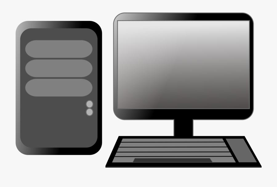 Free Computer Image - Desktop Computer Clipart, Transparent Clipart