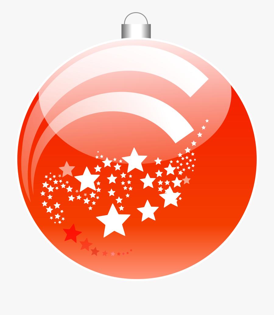 Christmas Ball, Christmas, Ornament, Decoration, Red - Animated Orange Christmas Tree, Transparent Clipart
