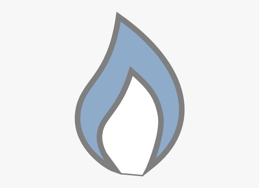 Clip Art Flame - Candle Flames Clipart Blue, Transparent Clipart