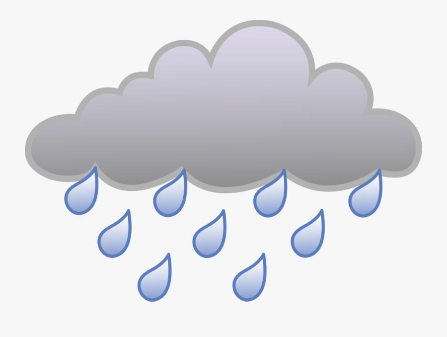 Rain Cloud Clipart - Transparent Rain Cloud Clipart, Transparent Clipart