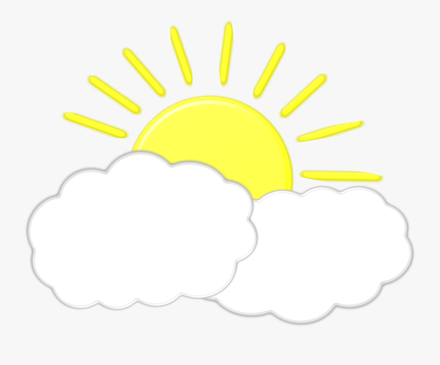 Thumb Image - Sun Behind Clouds Clipart, Transparent Clipart