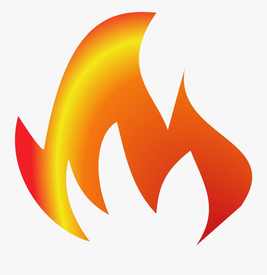Transparent On Fire Png - Fire Clipart, Transparent Clipart