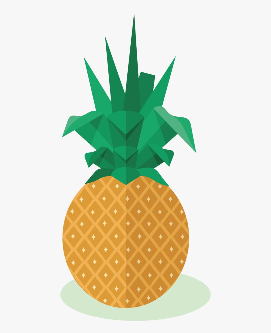 Transparent Fruit Clipart Png - Pineapple, Transparent Clipart