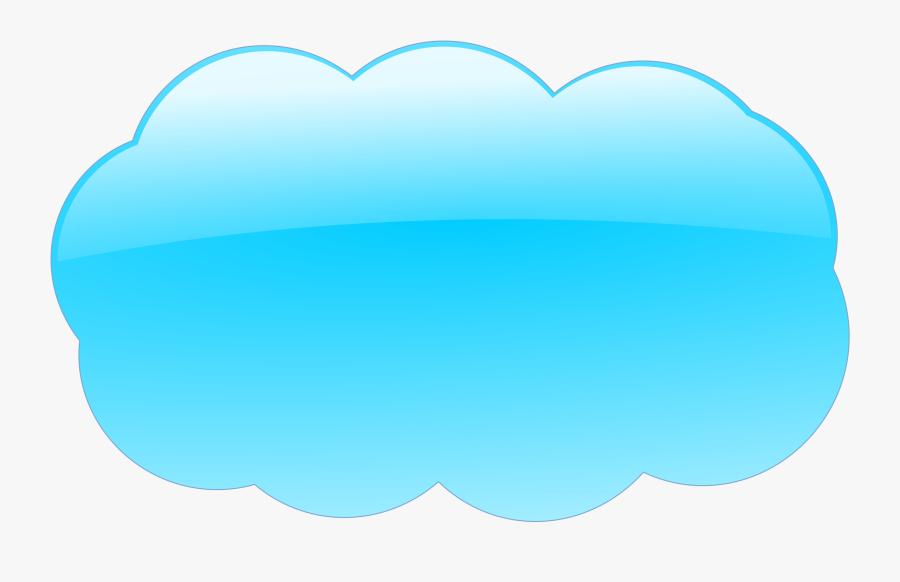 Cloud - Clipart - Sky Blue Cloud Clipart, Transparent Clipart