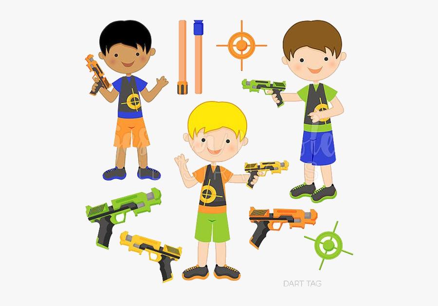 Nerf Gun Guns Clipart For Free And Use Images In Presentations - Cartoon Kids Nerf Gun Clip Art, Transparent Clipart