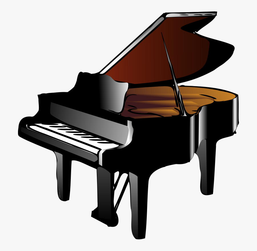 Keyboard And Piano Clipart - Piano Clipart, Transparent Clipart