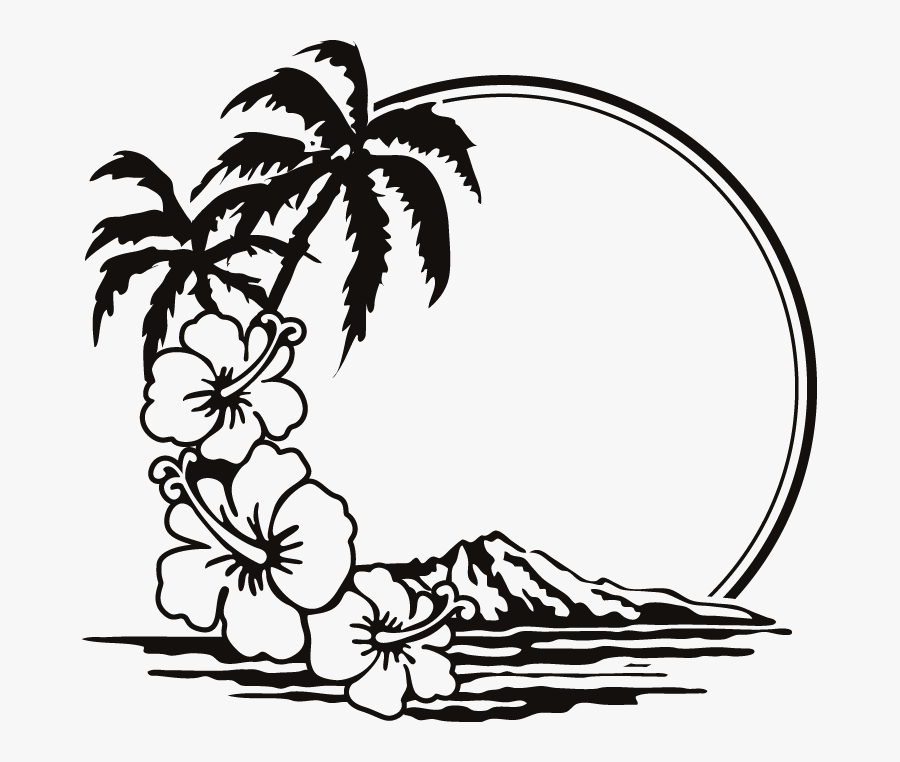 Holiday Silhouette At Getdrawings - Clip Art Beach Black ...