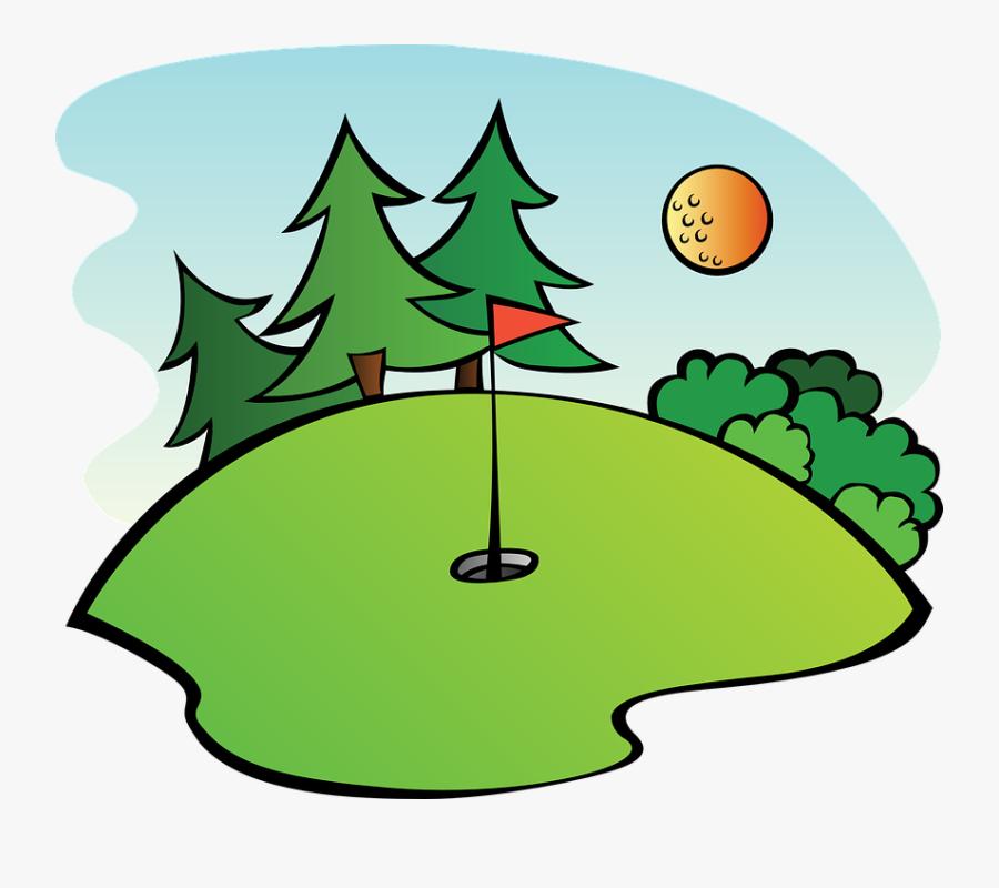 Golf Clip Art - Clip Art Golf Course, Transparent Clipart